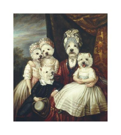 Les Enfants de la Comtesse II-Thierry Poncelet-Premium Giclee Print