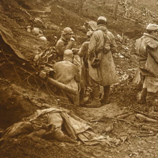 Les Éparges, northern France, 1915-Unknown-Photographic Print