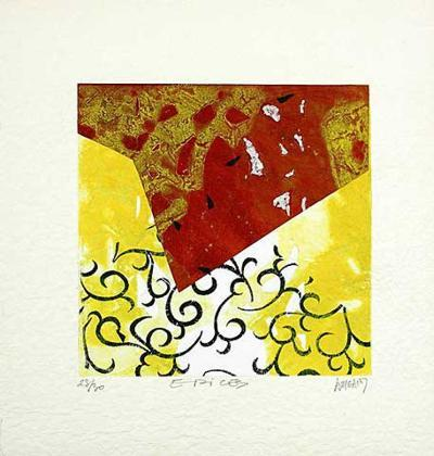 Les Epices-Bernard Alligand-Collectable Print