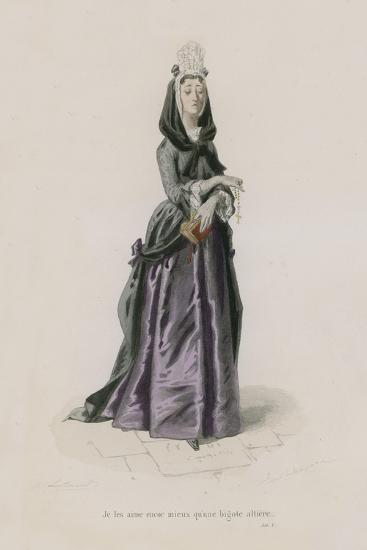 Les Femmes, Satire X-Emile Antoine Bayard-Giclee Print