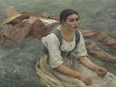 Les foins-Jules Bastien-Lepage-Giclee Print
