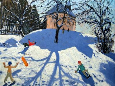 Les Gets-Andrew Macara-Giclee Print