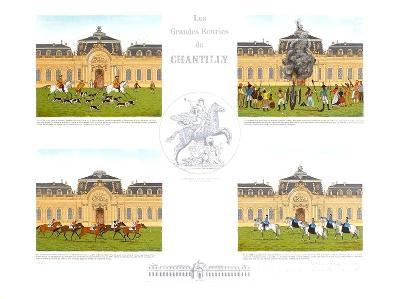 Les Grandes Ecuries de Chantilly-Vincent Haddelsey-Collectable Print