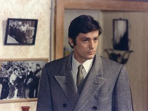 Les granges brulees The Burned Barns by Jean Chapot with Alain Delon, 1973 (photo)