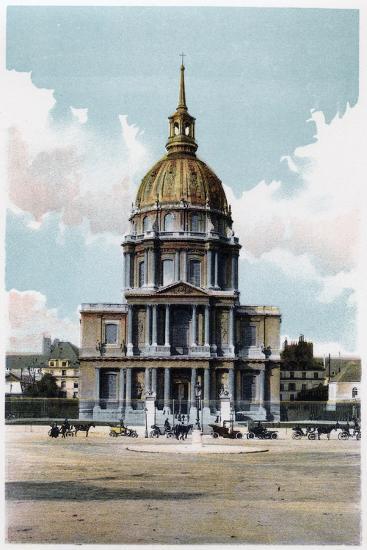Les Invalides, Paris, C1900--Giclee Print