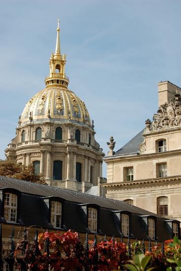Les Invalides, Paris, France--Photographic Print