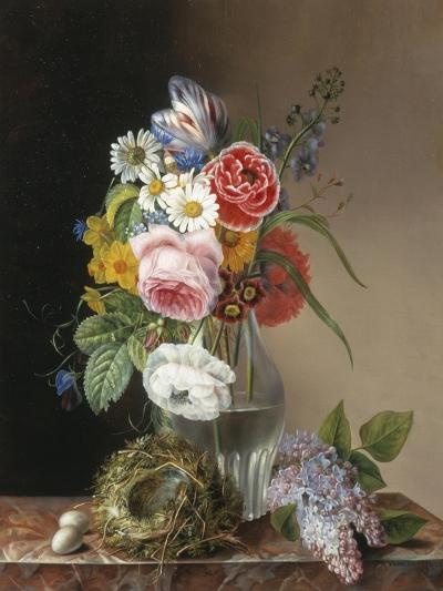 Les Jolies Fleurs-Augustine Vervloet-Giclee Print