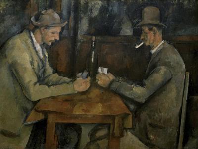 Les Joueurs de Cartes-Paul C?zanne-Giclee Print