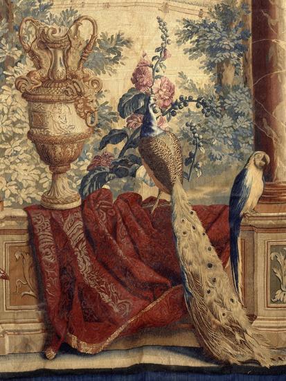 Les Maisons royales : Fontainebleau (3e entrefenêtre)-Charles Le Brun-Giclee Print