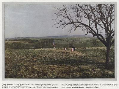 Les Marais Vus De Mondement-Jules Gervais-Courtellemont-Photographic Print