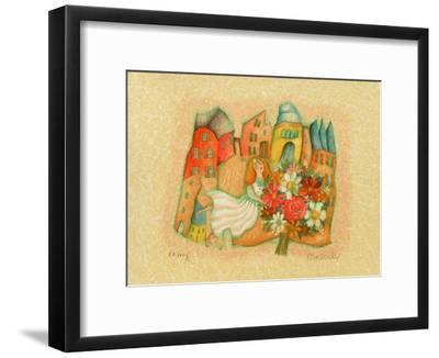 Les mariés III-Francoise Deberdt-Framed Limited Edition