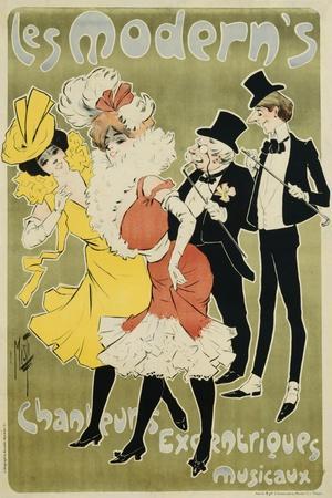 Les Modern's Poster--Giclee Print
