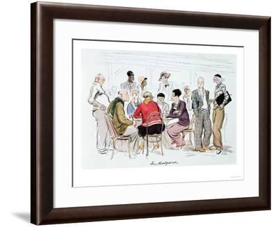 Les Montparnos, 1929-Sem-Framed Giclee Print
