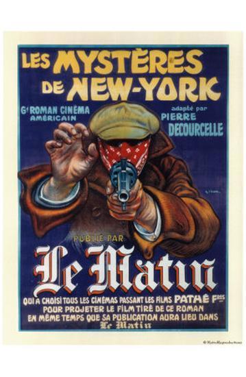 Les Mysteres de New York--Art Print