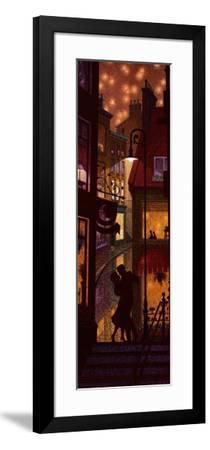 Les Noctambules-Denis Nolet-Framed Art Print