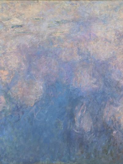 Les Nymph� : les Nuages-Claude Monet-Giclee Print