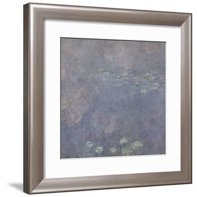 Les Nymphéas : Les Deux saules-Claude Monet-Framed Giclee Print