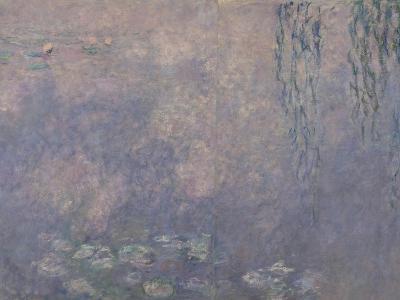 Les Nymphéas : Les Deux saules-Claude Monet-Giclee Print