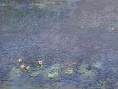 Les Nymphéas : Matin-Claude Monet-Giclee Print