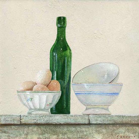 Les Oeufs-Pascal Castillon-Art Print
