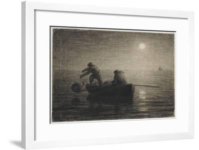 Les P�eurs-Jean-François Millet-Framed Giclee Print