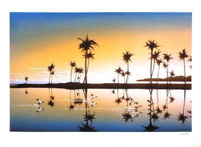 Les palmiers-Daniel Sciora-Collectable Print