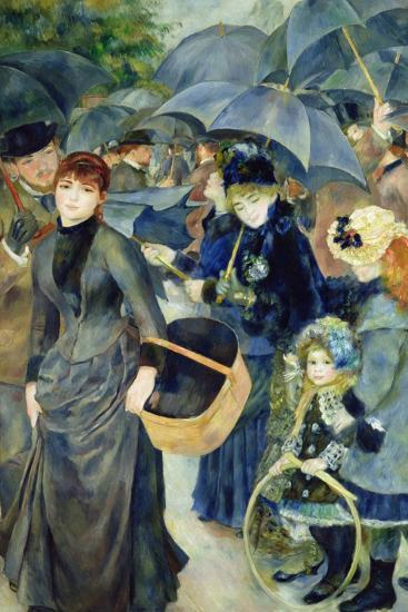 Les Parapluies, 1886-Pierre-Auguste Renoir-Giclee Print