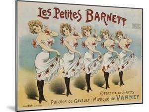 Les Petites Barnett Poster