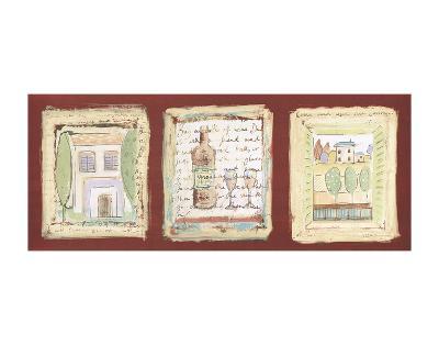 Les petites maisons de Provence-Jane Claire-Art Print