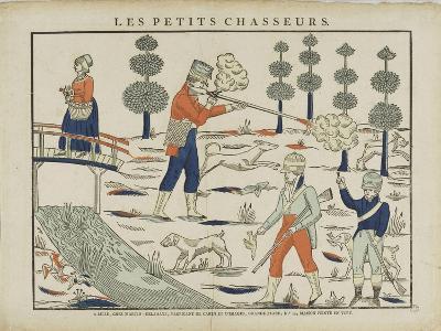 Les petits chasseurs--Giclee Print