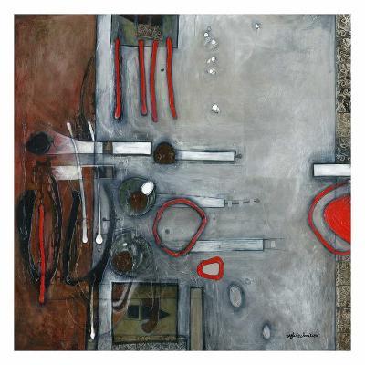 Les pleins, les vides-Sylvie Cloutier-Art Print