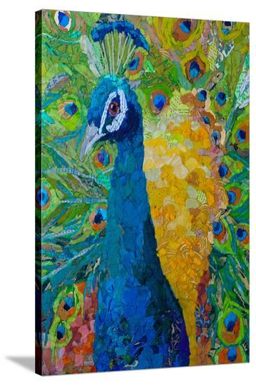 Les Plumes--Stretched Canvas Print
