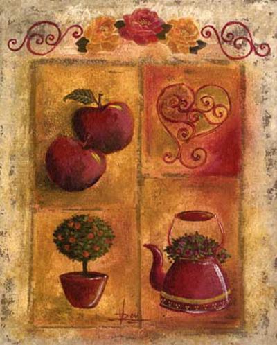 Les Pommes-V?ronique Didier-Laurent-Art Print