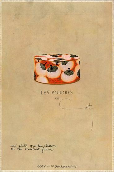 'Les Poudres de Coty', c1923, (1923)-Unknown-Giclee Print