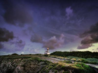 Les Poulains Lighthouse-Philippe Manguin-Photographic Print