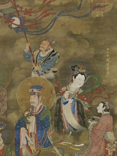 Les Régents des Onze luminaires--Giclee Print