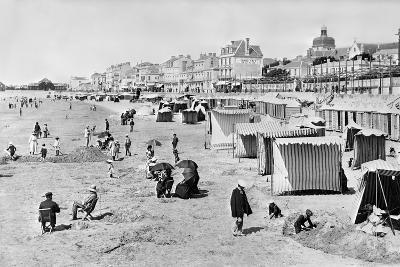 Les Sables-D'Olonne, C.1900--Photographic Print