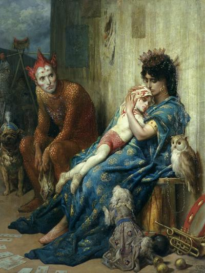 Les Saltimbanques, 1874-Gustave Dor?-Giclee Print