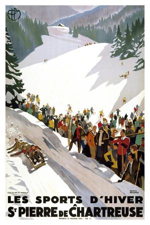 Les Sports D'Hiver-Marcus Jules-Giclee Print