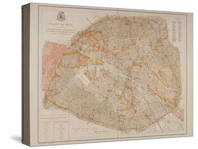 Les travaux de Paris, 1889, Planche 12: Paris en 1871