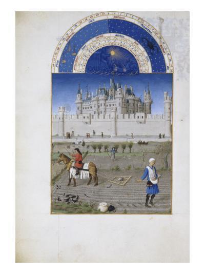 Les Très Riches Heures du duc de Berry--Giclee Print