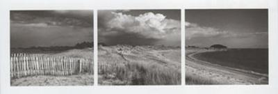 Les Trois Plages-Yannick Le Gal-Art Print