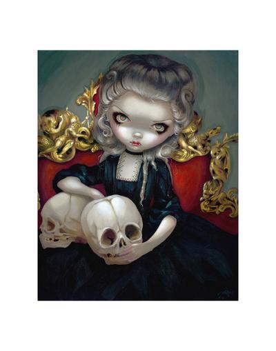Les Vampires Les Cranes-Jasmine Becket-Griffith-Art Print