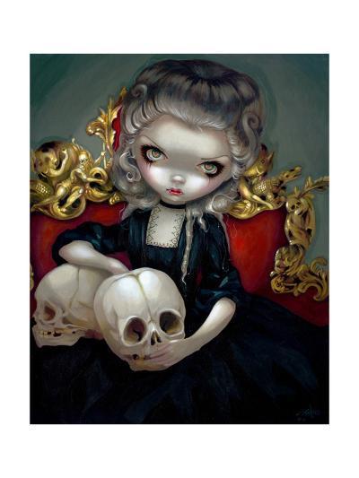 Les Vampires: Les Cranes-Jasmine Becket-Griffith-Art Print