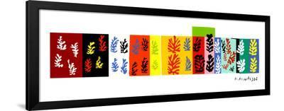 Les Velours, c.1947-Henri Matisse-Framed Art Print
