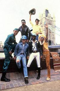 Les Village People in London on August 1St, 1980
