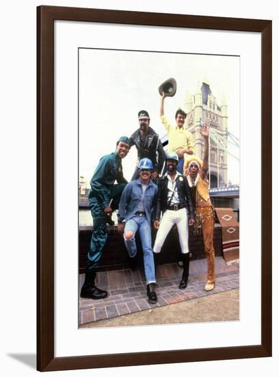 Les Village People in London on August 1St, 1980--Framed Photo