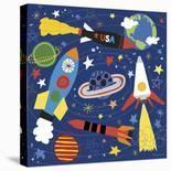 Space Explorer I-Lesley Grainger-Art Print