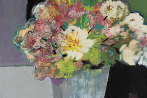 Flower Market by Leslie Bernsen
