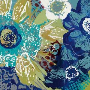 Garden Blues I by Leslie Bernsen